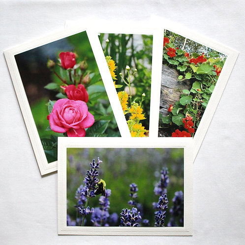 Priory Flowers Card Collection