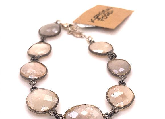 Shaded Moonstone Bracelet