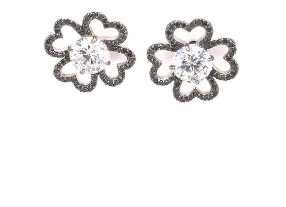 Black Diamond Earring Jackets