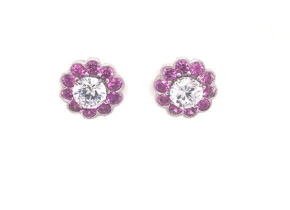 Pink Sapphire Earring Jacket
