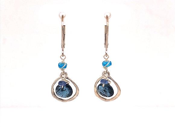Indigo Kyanite Earrings