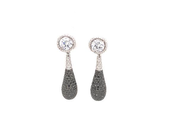Diamond Earring Jacket Drop