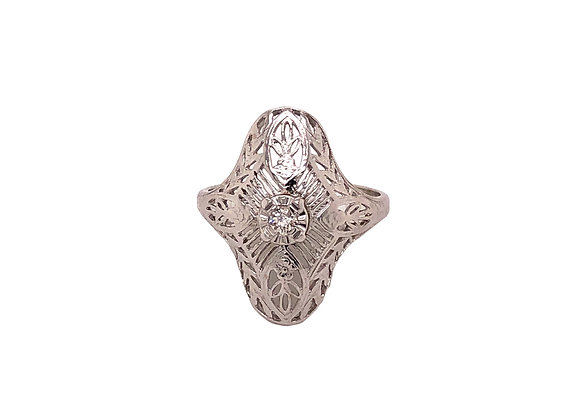 Vintage Estate Diamond Ring
