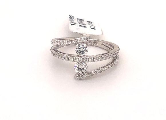 Diamond Bybass Ring