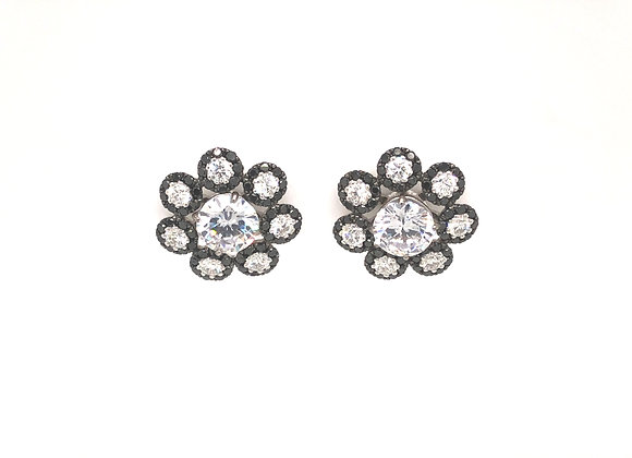 Black and White Diamond Earring Jackets