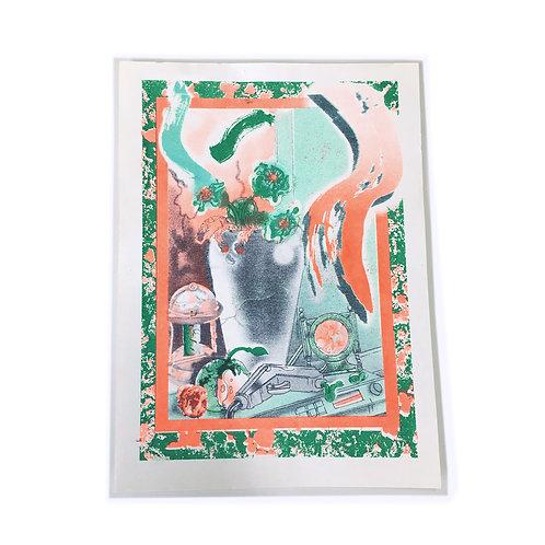 'Still Life' print by Michael Hawkins