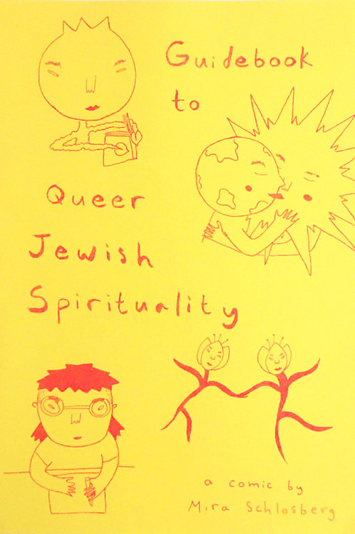 """""""Guidebook to Queer Jewish Spirituality"""" by Mira Schlosberg"""