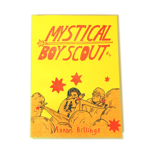 'Mystical Boy Scout #4' by Aaron Billings