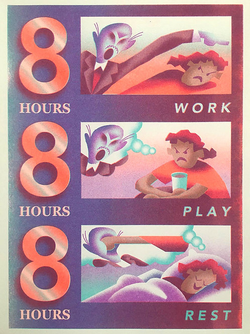 '888' print by Ben Juers