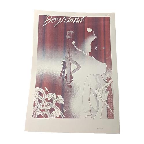 'Boyfriend' print by Michael Hawkins