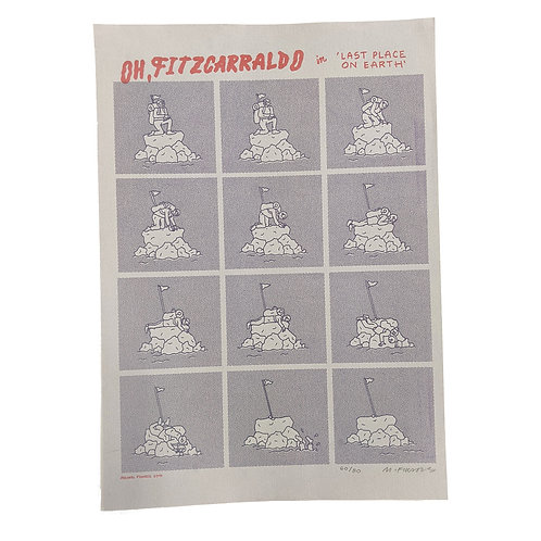 'Oh, Fitzcarraldo' print by Michael Fikaris