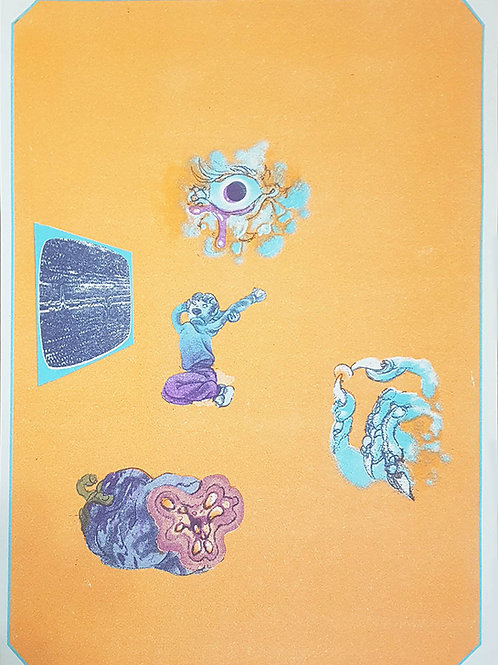 'Erskine's Childhood' print by Michael Hawkins