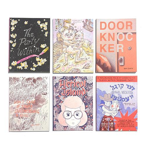 Glom 2021 Six Book Set