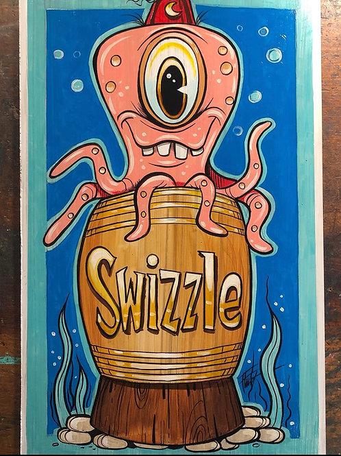 Flint Swizzle Print