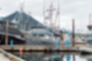 The Bella Dawn, a commercial fishing vessel in Cresent Harbor located in Sitka, Alaska