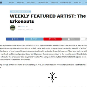 Featured band of the week on It Djents