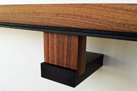 Componance M+W-Wall Handrail Bracket, Black