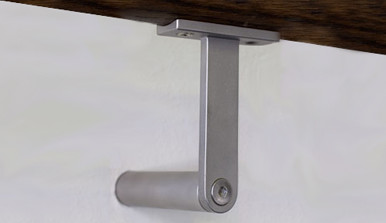 The HB 510 Wall Mounted Handrail Bracket The Halliday+Baillie HB 510 Is  Designed For Round Profile Wooden Balustrades. Includes All Fasteners.