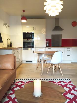 Rénovation cuisine IKEA, eames, made.com
