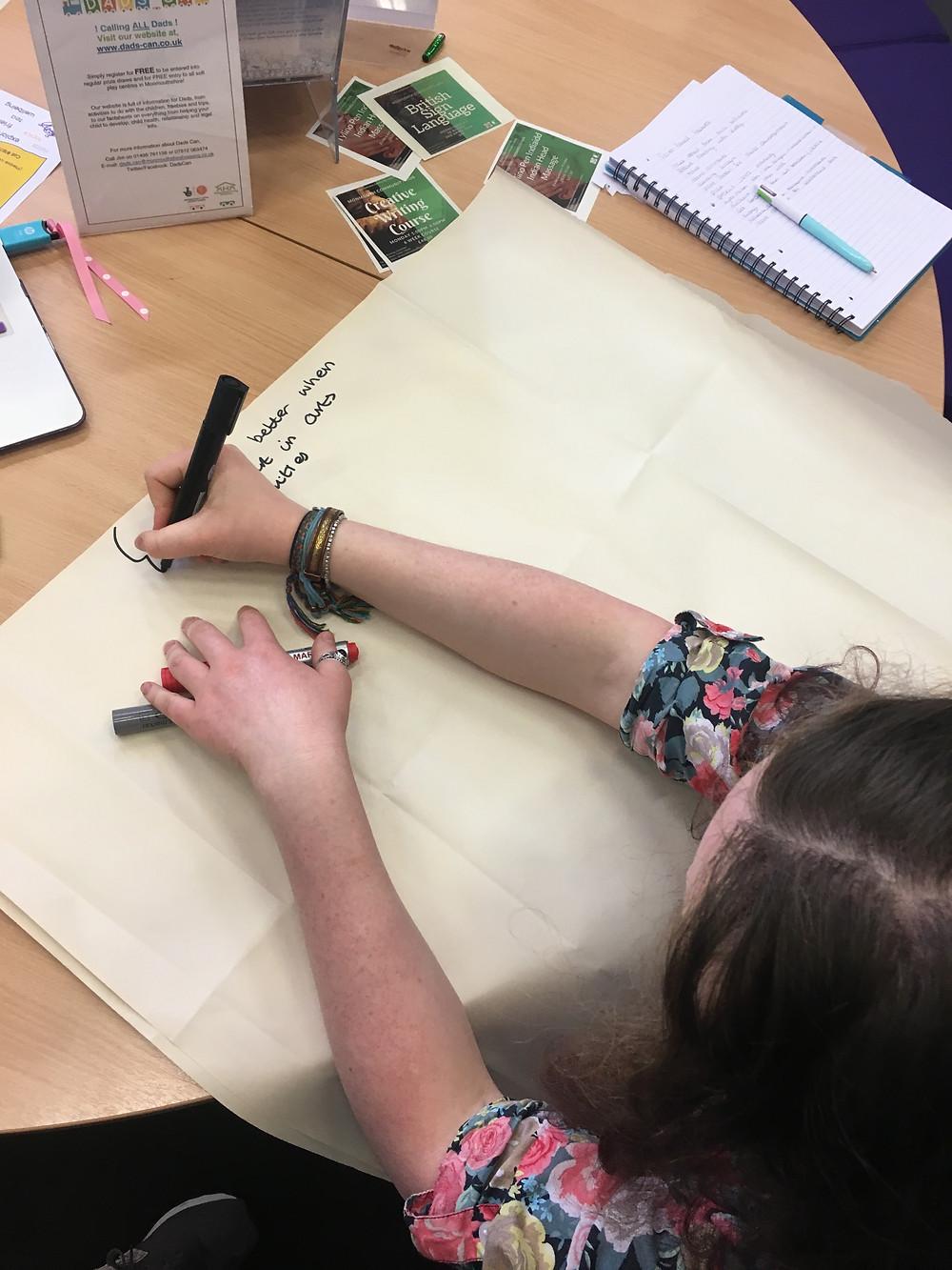 arts issue debates young person gold arts award mentoring