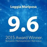 Loggia Mariposa award 2015 Booking.com