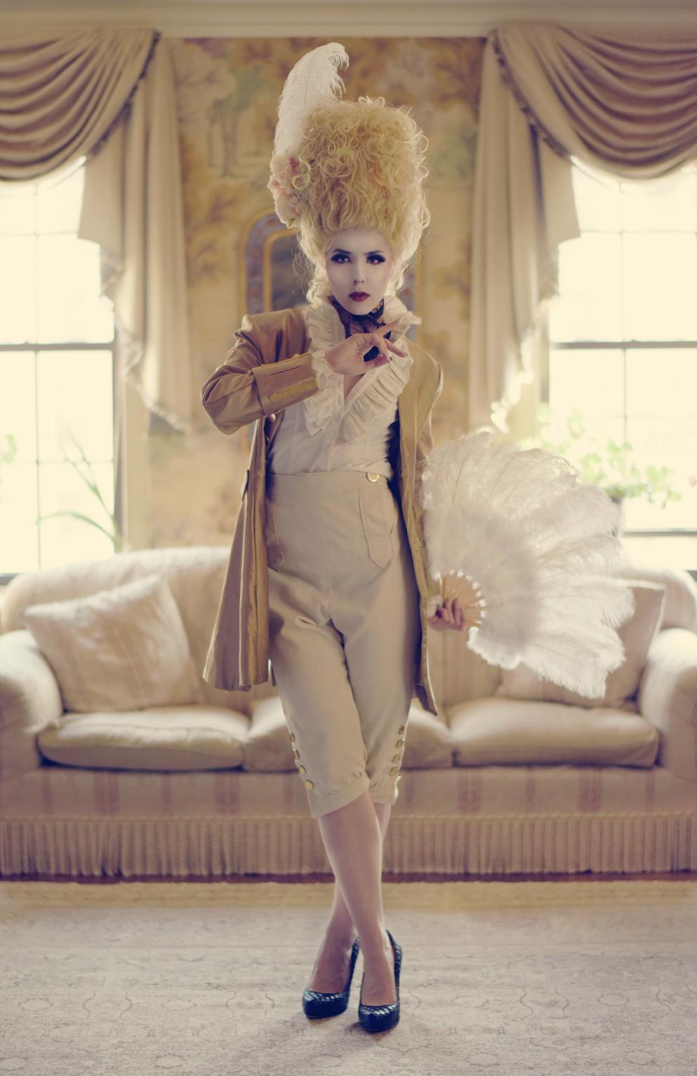 Marie Antoinette Editorial NYC 2018