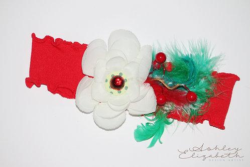 Christmas Floral Stretch Headband