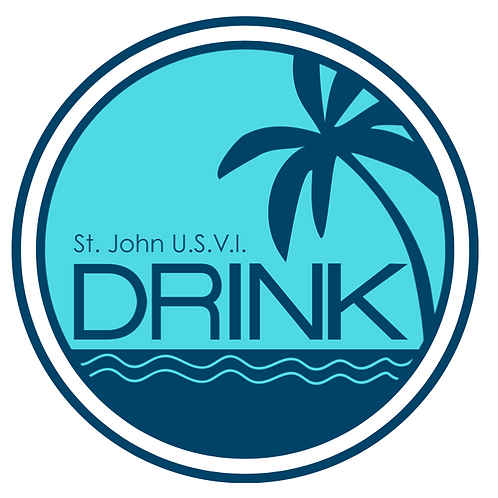 Drink Round Sticker