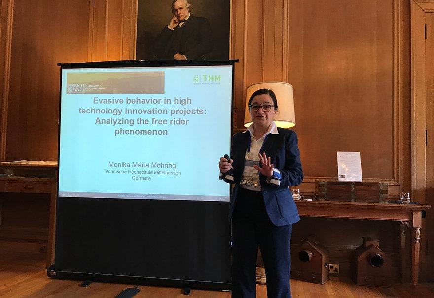 Monika Maria Möhring hält Vortrag auf der Euroma Konferenz 2017