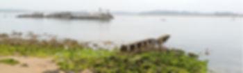 La bahia de Santander en Cantabria