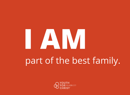 I am part of the best family.