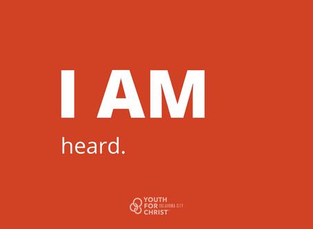 I am heard.