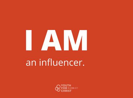 I am an influencer.