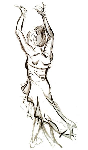 Dancing Lady Back