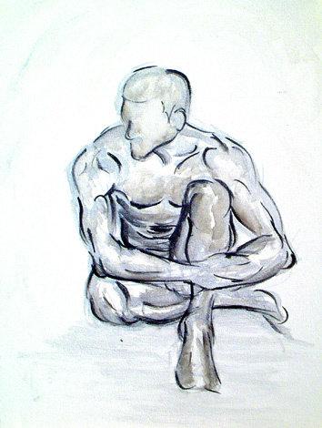 Contemplation: Original Painting