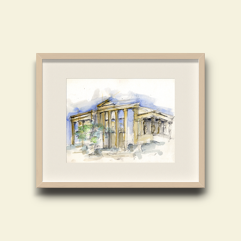 Erechtheion Facade: New Limited Edition Print