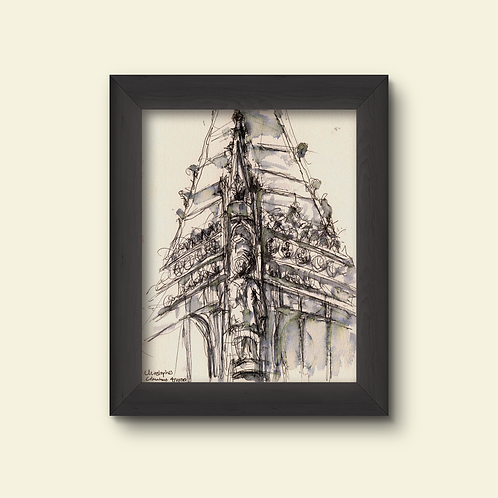 Columbus Monument: New Limited Edition Print