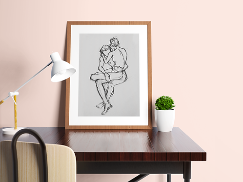 Entwined Sketch: Limited Edition Print