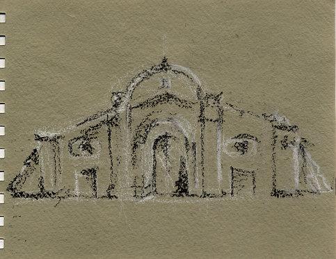 Famagusta Gate: Notebook Study
