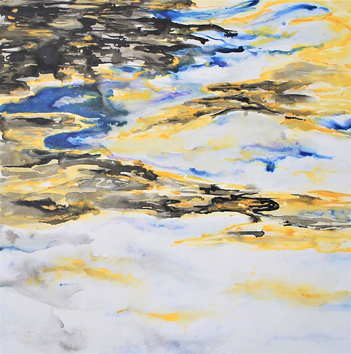 Liquid Gold II: Original Painting
