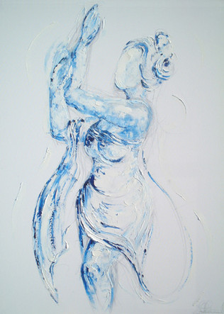 Blue Lady Dancing