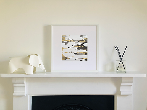 Gold Stream: Limited Edition Detail Print