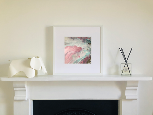 Pink Morning: Limited Edition Detail Print I