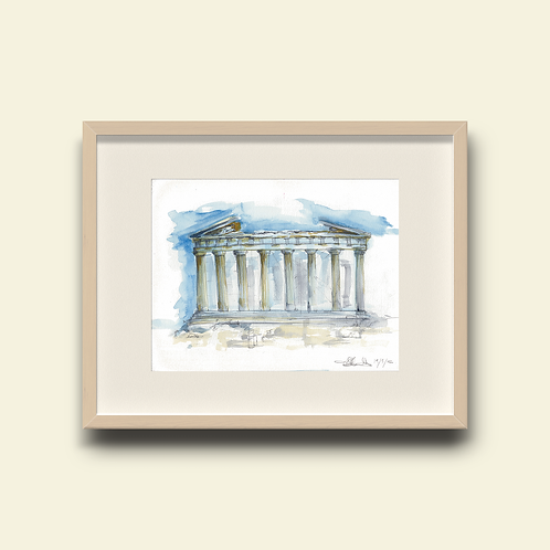 Parthenon: New Limited Edition Print