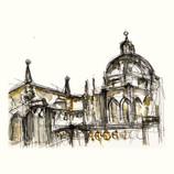 Toledo Cathedral Facade