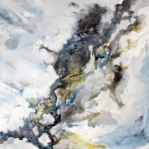 Passionate Sky: Original Painting