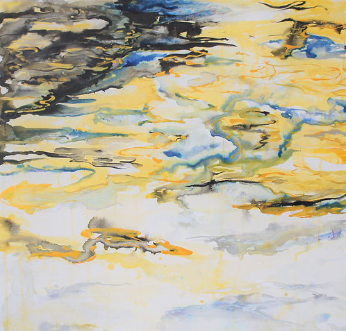 Liquid Gold I: Original Painting