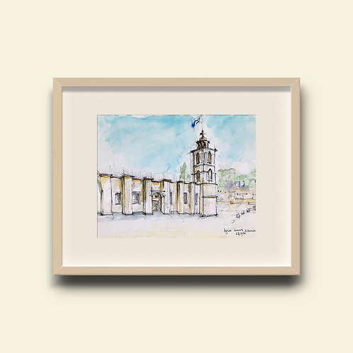 Ayios Ioannis 200: New Limited Edition Print