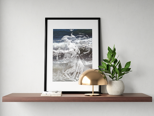 Mother Man-Made Nature: New Limited Edition Print unframed