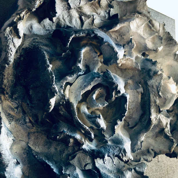 Blue Rose Detail